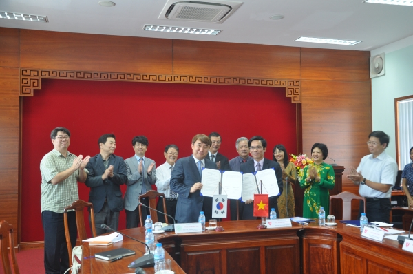 Hue University enters into an MoU with Konkuk University, Korea