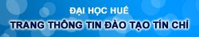 Trang thông tin hỗ trợ công tác Đào tạo Tín chỉ