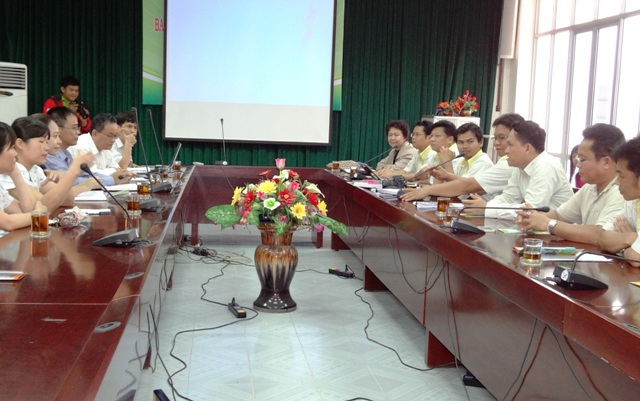 Hue University College of Agriculture and Forestry met with Mahasarakham University, Thailand
